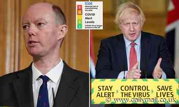 Chris Whitty thwarted Boris Johnson's wish to downgrade UK's coronavirus threat level