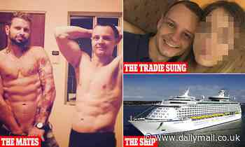 Daniel Rawlings: Royal Caribbean  passenger 'twitched' after falling ill in sex session, court hears