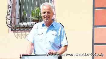 Oberndorf a. N.: Ulrich Effenberger legt die Uniform ab - Oberndorf a. N. - Schwarzwälder Bote