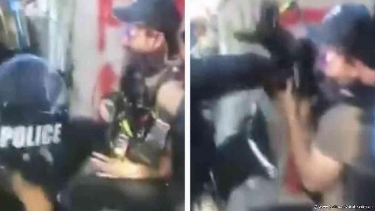 Cops attack Sunrise crew live on air - Ballina Shire Advocate