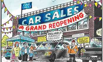 PAUL THOMAS on... car dealers reopening