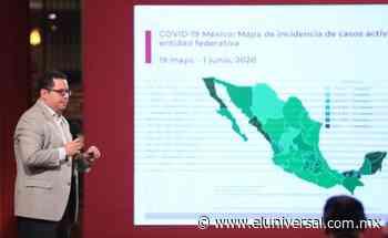 Coronavirus 1 de junio. México supera las 10 mil muertes por Covid; hay 93,435 casos   El Universal - El Universal