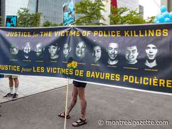 A timeline of police violence against people of colour in Montreal