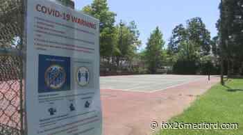 Dog parks and tennis courts open up in Grants Pass   KMVU Fox 26 Medford - KMVU Fox 26 Medford