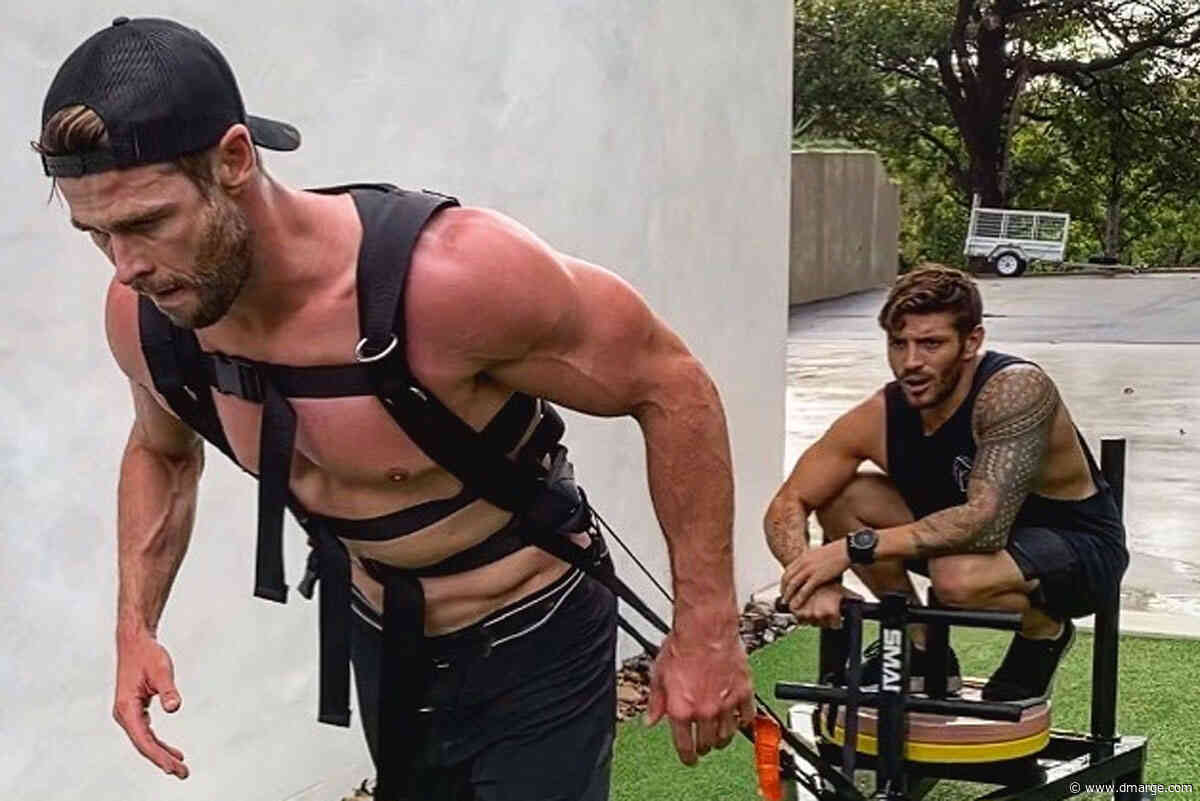 Chris Hemsworth's 'Lawnmower' Workout Reveals Awkward Truth About 'Nue Age' Training