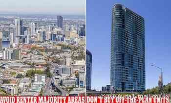 Investors urged to avoid off-the-plan apartments and property in renter-majority suburbs