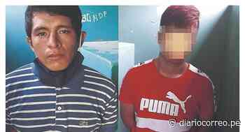 """""""Los Atorrantes de Chepén"""" caen por robar mototaxi - Diario Correo"""