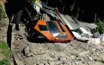 Se derrumba cerro en San Cristobal de las Casas - El Heraldo de Tabasco