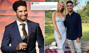 AFL star Chad Wingard slaps a media ban on himself due to media covering of George Floyd protests