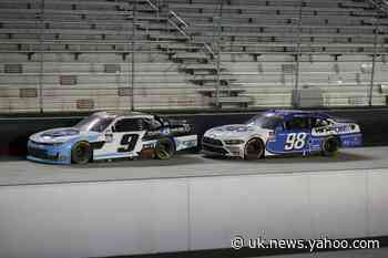 Gragson wiggles past Allgaier to win Xfinity race at Bristol