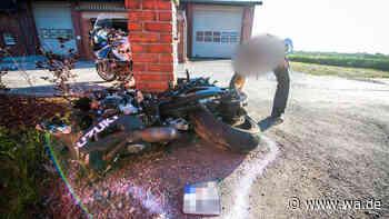 Schlimmer Motorradunfall im Kreis Soest: Motorradfahrer ist sofort tot - wa.de