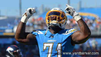 Defensive lineman Damion Square says he is back with Chargers