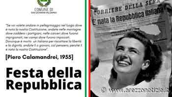 La Festa del 2 giugno a San Giovanni Valdarno: Costituzione in regalo ai neo maggiorenni - ArezzoNotizie
