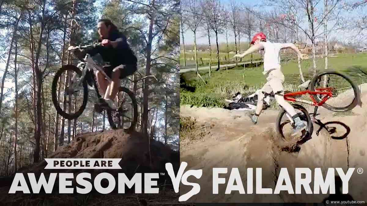 Biking, Skateboarding & More | People Are Awesome Vs. FailArmy