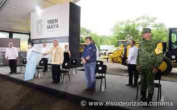 AMLO da banderazo de construcción del Tren Maya - El Sol de Orizaba