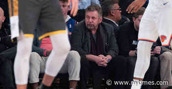 Knicks Won't Weigh In on George Floyd, Dolan Tells Employees