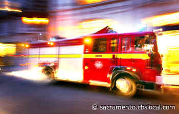 Firefighters Battling Commerical Fire In South Sacramento