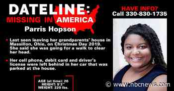 Ohio woman still missing months after mysterious disappearance from grandparents' house on Christmas Day