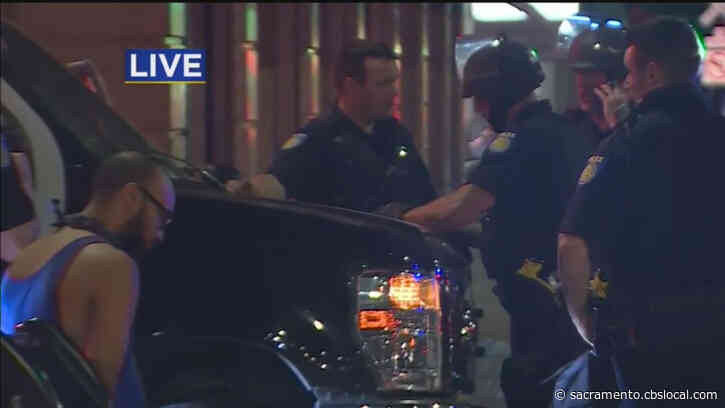 Police Arrest At Least A Dozen People For Violating Sacramento Curfew Downtown