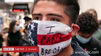 """Muerte de George Floyd: el """"inevitable"""" riesgo de superpropagación de coronavirus en las protestas en EE.UU. - BBC News Mundo"""