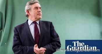 Gordon Brown urges G20 countries to back $2.5tn coronavirus plan - The Guardian