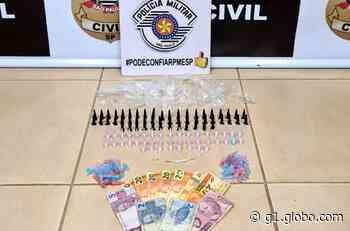 Dupla é presa com drogas escondidas no quarto da avó em Pederneiras - G1