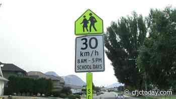 Slow down: RCMP reminding Kamloops drivers of school-zone speed limits - CFJC Today Kamloops