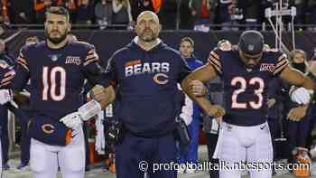 Bears head coach Matt Nagy offers support in addressing current social unrest