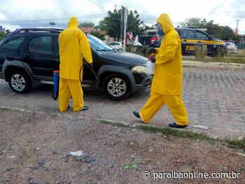 Prefeitura do Sertão da Paraíba monta barreiras sanitárias para evitar contaminação • Paraíba Online - Paraíba Online