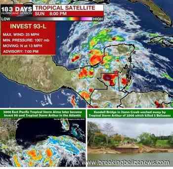 Amanda (2020) shades of Alma and Arthur (2008) - Breaking Belize News