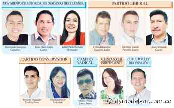 Conformado Concejo de Guachucal - Diario del Sur
