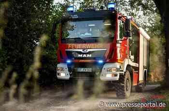 FW Altenberge: Vorsichtsmaßnahmen zu Waldbränden - Presseportal.de