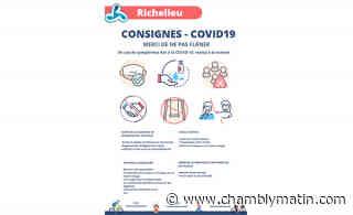 COVID-19 : ouverture partielle des parcs à Richelieu - Chambly Matin - Journal le Chambly Matin, Montérégie Quotidien - Chambly Matin