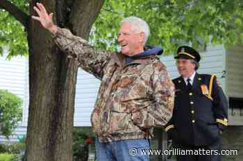Friends, colleagues celebrate Orillia firefighter's retirement (7 photos) - OrilliaMatters.Com
