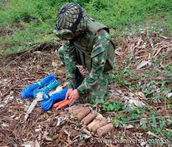 Dos capturados con armas de fuego y explosivos en Tiquisio - El Universal - Colombia