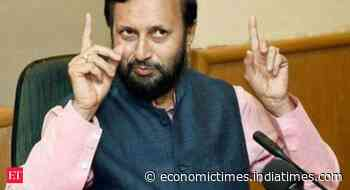 Environment ministry to amend EIA norms to help businesses - Economic Times