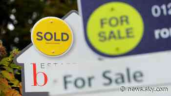 Coronavirus: Mortgage payment holiday extended as house prices 'slow sharply' - Sky News