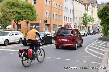 So soll Radfahren in Freital sicherer werden - Sächsische Zeitung