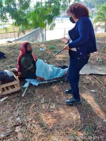 Prefeitura realiza trabalho de acolhimento aos moradores de rua - Agência Itapevi