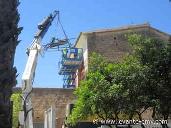 """La restauración del """"embarronat"""" de los Silos de Burjassot sigue en marcha - Levante-EMV"""