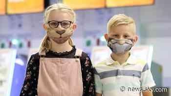 Coronavirus: Marvel comics artist creates 'superhero' masks for children flying with easyJet - Sky News