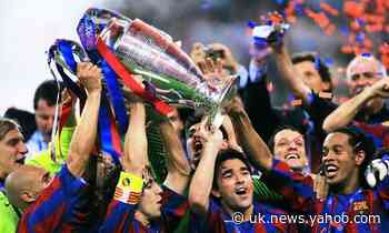 Football quiz: when Barcelona won the Champions League final in 2006