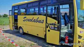 Scuolabus fermo per il lockdown: vetri spaccati e vandalizzato con l'estintore - L'Arena