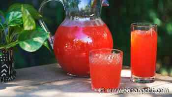 Honeysuckle Red Drink Punch