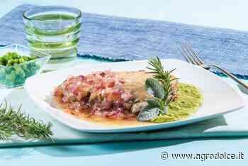 Ricetta Tonno in agrodolce con crema di piselli - Agrodolce
