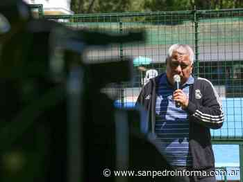 Salazar propone a San Pedro como sede del fútbol profesiona - San Perdo Informa