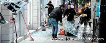 Vandalisme à Montréal: un autre coup dur pour des commerçants