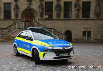 Unternehmen & Märkte - Hyundai Nexo als Streifenwagen: Anschleichen mit Brennstoffzelle - MotorZeitung.de