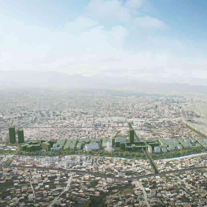 Stefano Boeri Architetti designs coronavirus-resilient neighbourhood in Tirana