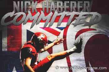 Nick Haberer kicks football goals in USA – Bundaberg Now - Bundaberg Now